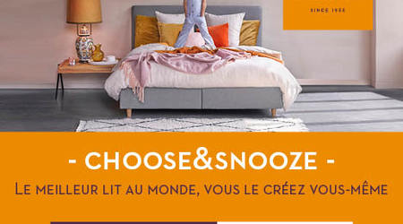 Choose & Snooze de chez Beka